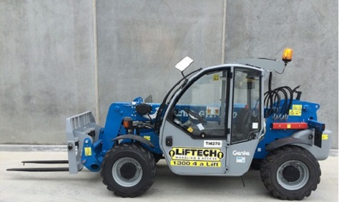 2.5 Rough Terrain Forklift