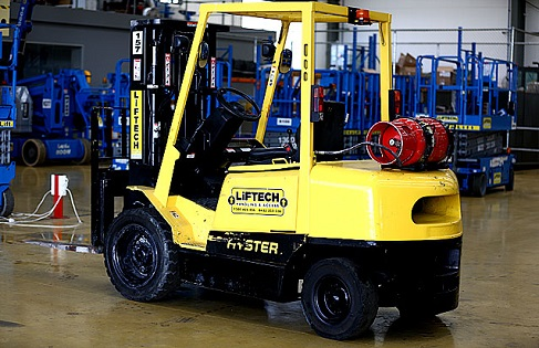 3T Container Mast Forklift